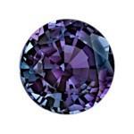 a round brilliant cut Alexandrite gemstone