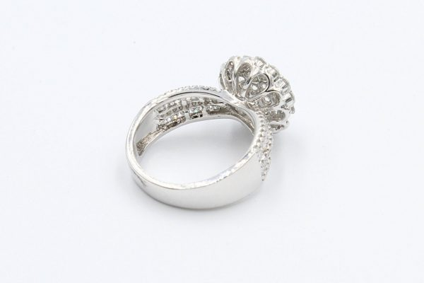 diamond encrusted cluster ring 3