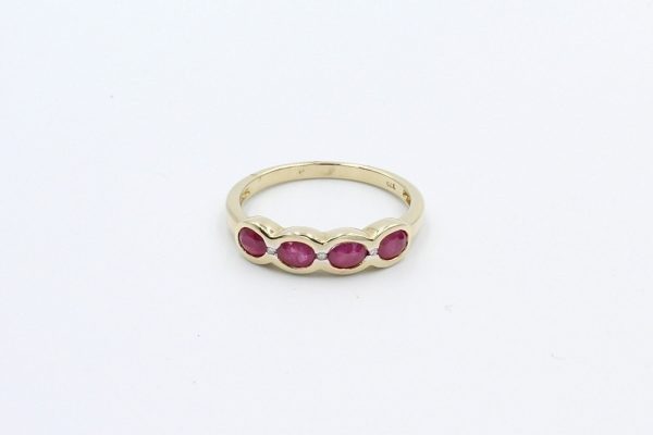 diamond ruby gold ring 1