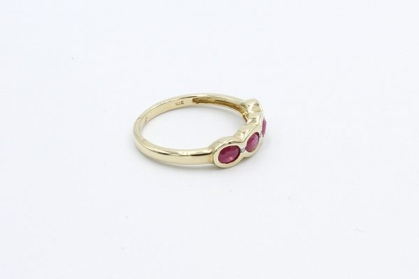 diamond ruby gold ring 2