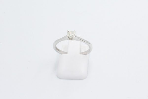 diamond solitaire engagement ring 1 3