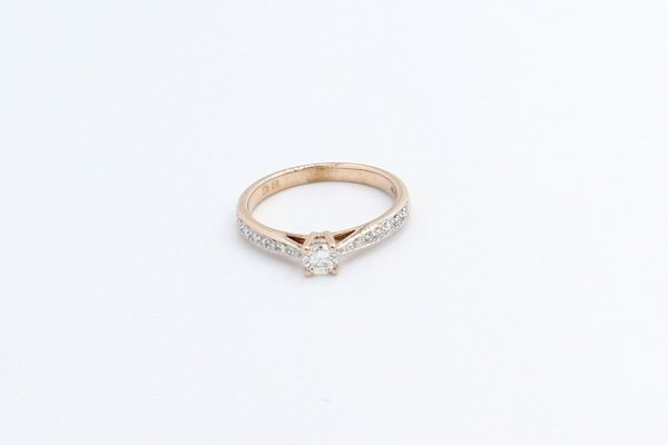 diamond solitaire engagement ring 2 4