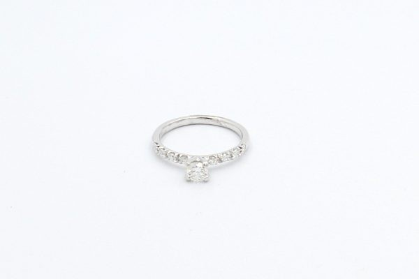 diamond solitaire white gold engagement ring 4