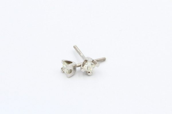 diamond stud earrings 3 5