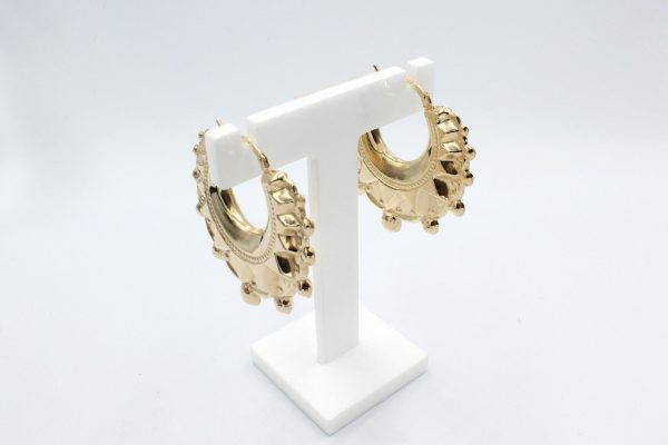 gold creole hooped earrings 3 scaled 1