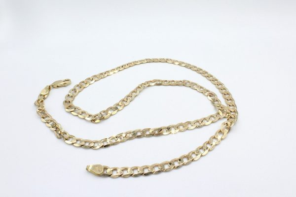 gold curb chain scaled 1