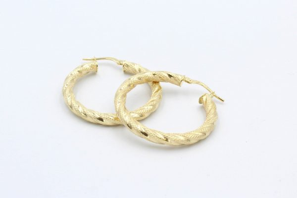 gold hoop earrings 7