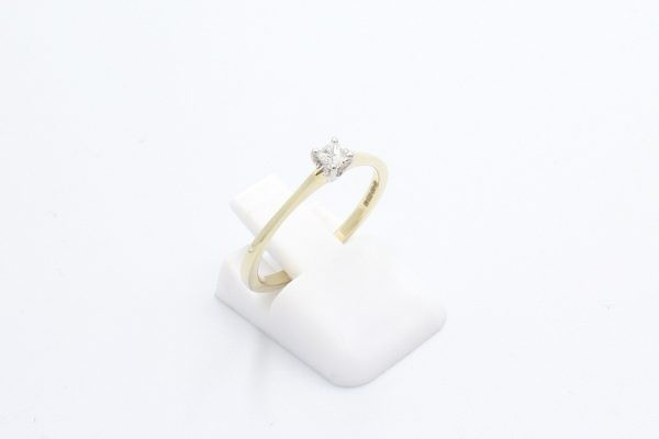gold solitaire engagement ring 2 1
