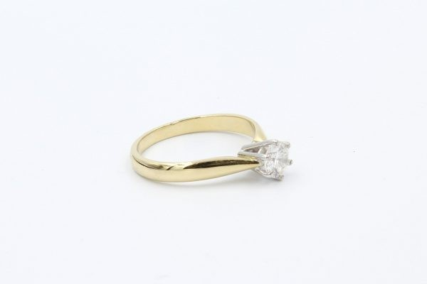 gold solitaire engagement ring 2