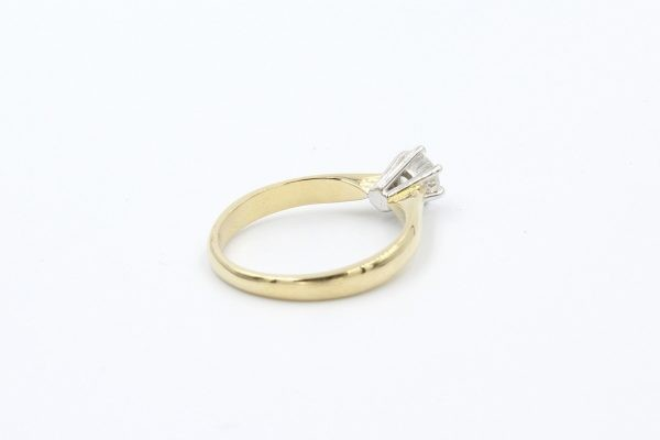 gold solitaire engagement ring 3
