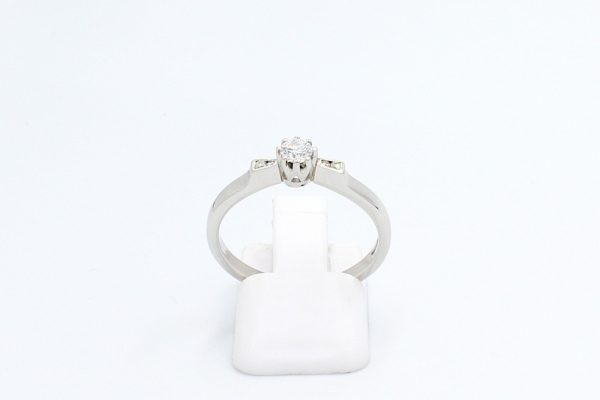 platinum diamond engagement ring 1 5
