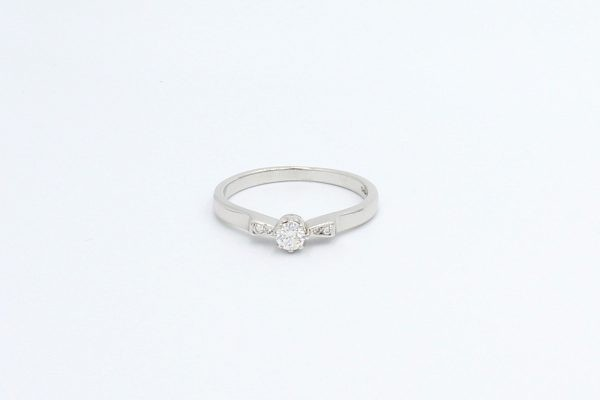 platinum diamond engagement ring 3 5