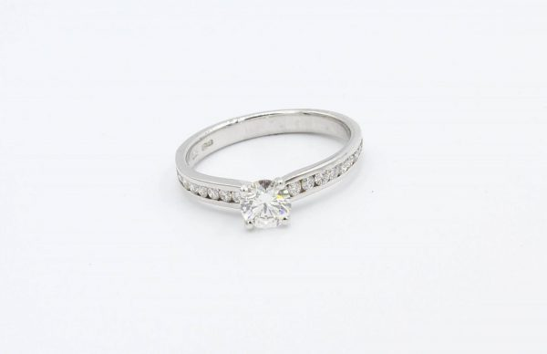 platinum solitaire engagement ring 1