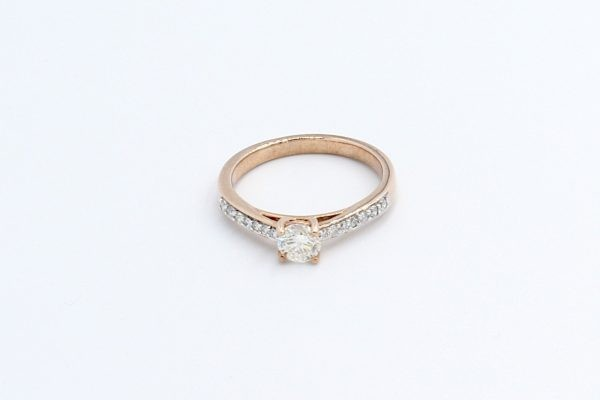 rose gold engagement ring 3 1