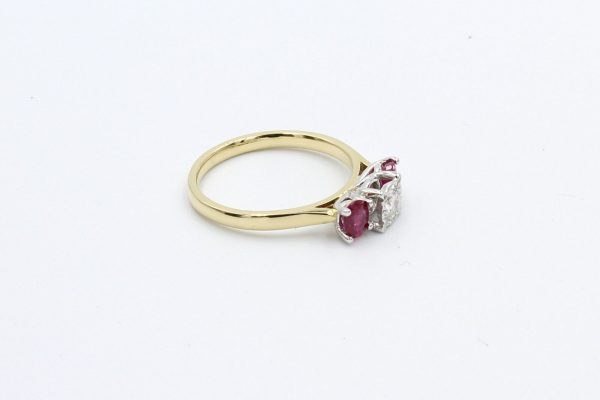 ruby diamond gold engagement ring 1