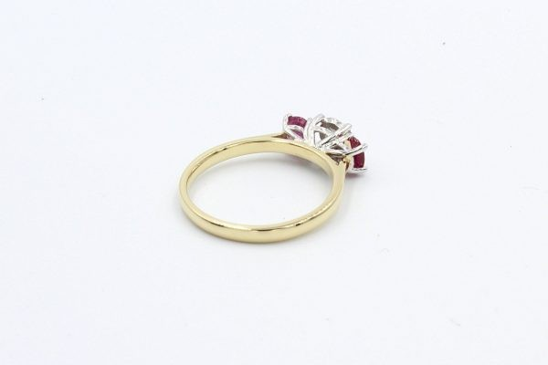 ruby diamond gold engagement ring 2