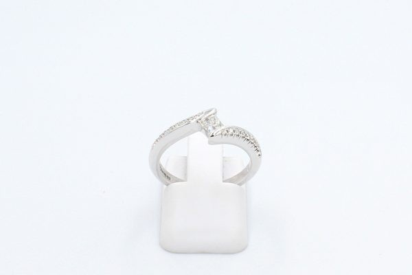 shaped diamond engagement ring 1 1
