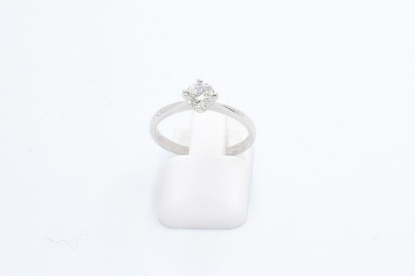 solitaire diamond engagement ring 1 3
