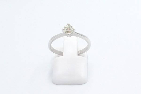solitaire diamond engagement ring 1 4