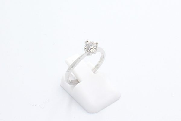 solitaire diamond engagement ring 2 3