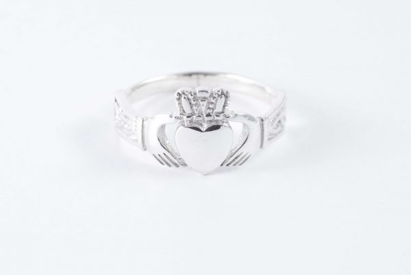 sterling silver claddagh ring 5